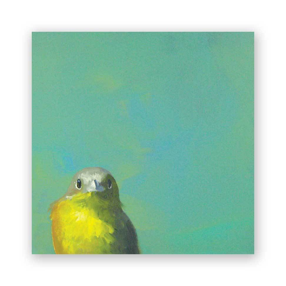 Yellow Bird - Wings on Wood®