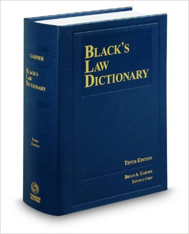 9780314613004 | Black's Law Dictionary, 10th Edition