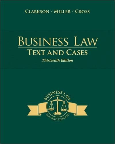 Business Law : Text and Cases 13th | 9781285185248