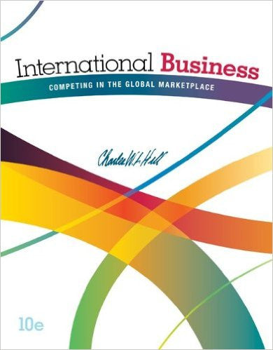 9780078112775 | International Business: Competing in the Global Marketplace 10th Edition