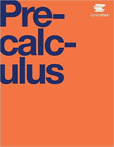 9781938168345 | Precalculus Hardcover – Published by OpenStax