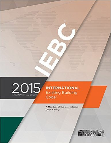 2015 International Existing Building Code | 9781609834722