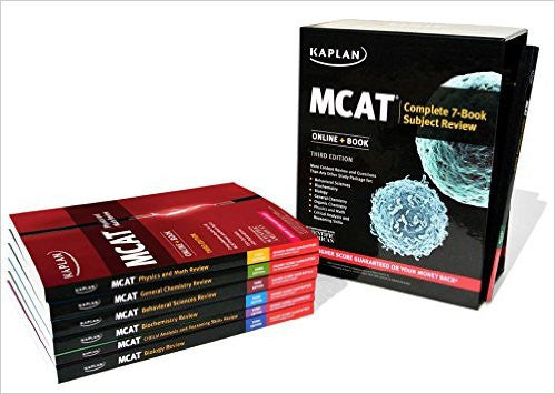 9781506205595 | MCAT Complete 7-Book Subject Review (Kaplan Test Prep) Third Edition
