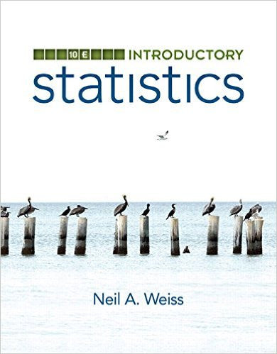 9780321989178 | Introductory Statistics (10th Edition)