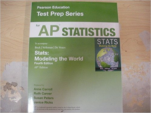 9780133539844 | AP® Test Prep: Statistics, 4th Edition