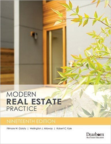 Modern Real Estate Practice, 19th Edition | 9781427746122