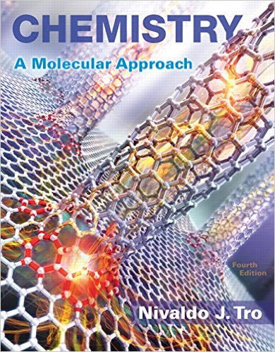 9780134112831 | Chemistry: A Molecular Approach (4th Edition)