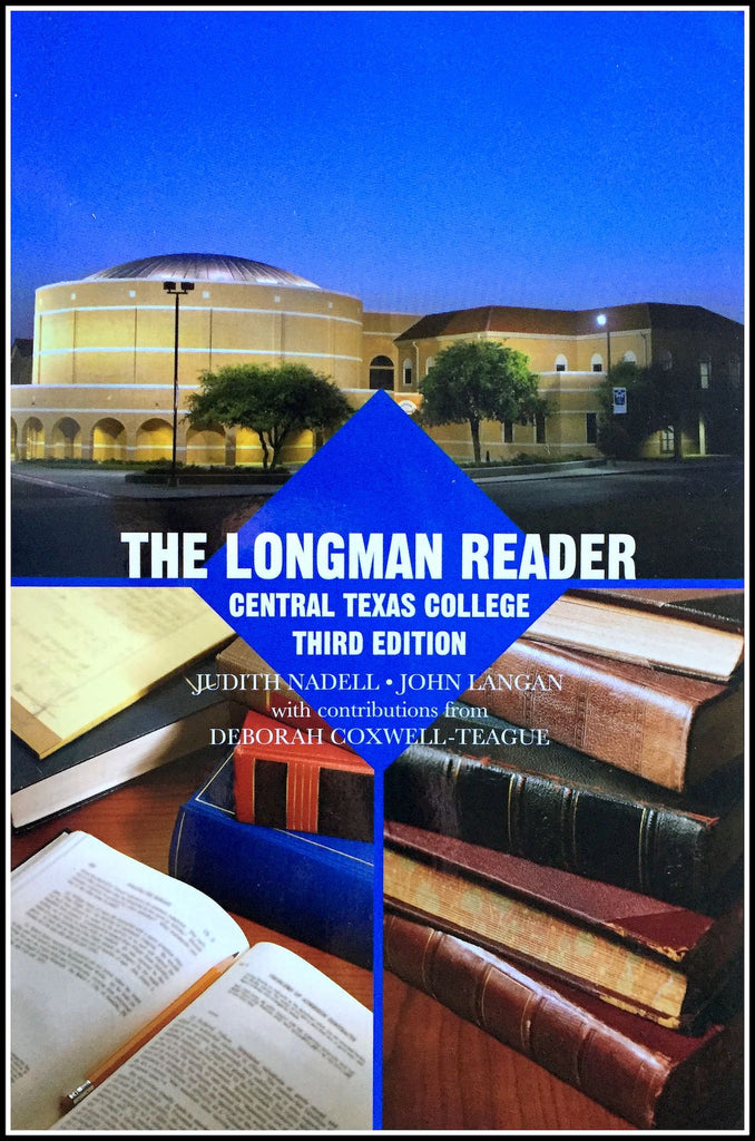 9781323152171 the longman reader central texas college 3rd edition fandeluxe