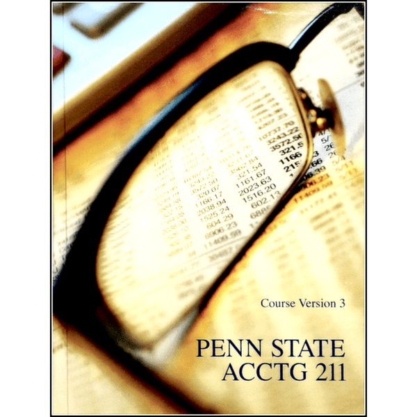 9781269618366 | PENN STATE ACCTG 211 COURSE VERSION 3