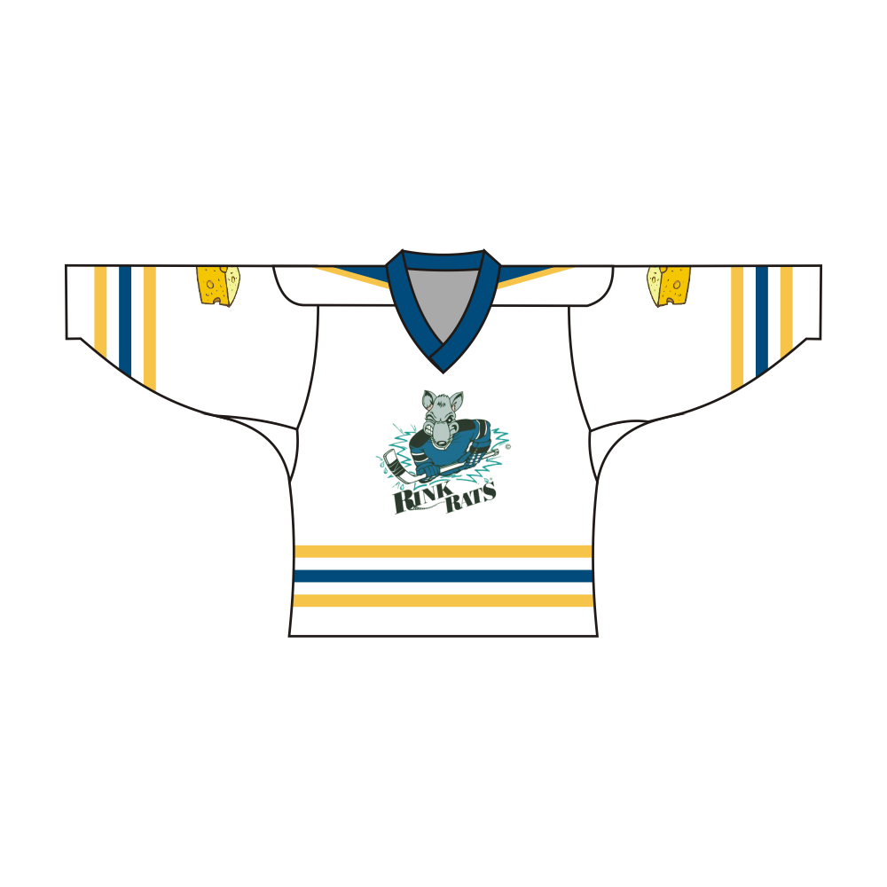 Sublimated RINK RATS Team Design Hockey Jersey