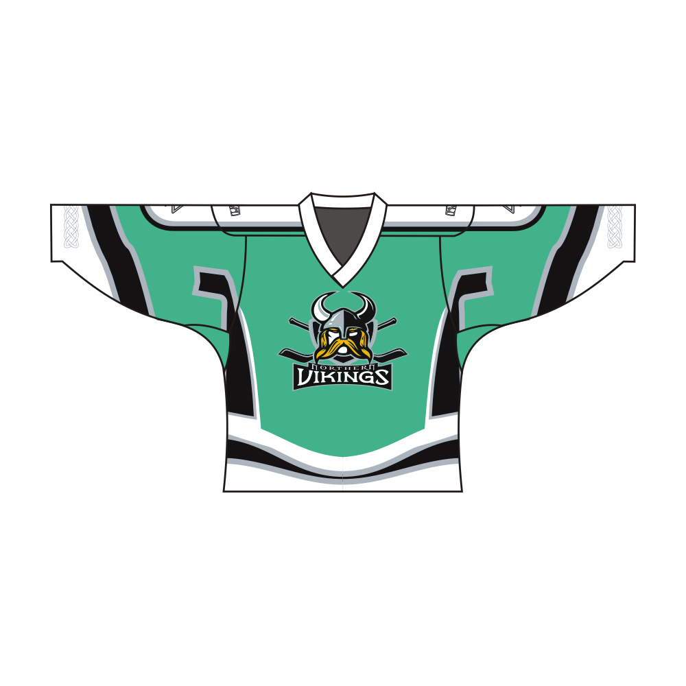 Sublimated Northern Vikings Team Design Hockey Jersey