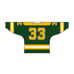 Sublimated HomeLife Design Hockey Jersey Green