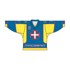 SUBLIMATED MADEIRA TEAM DESIGN HOCKEY JERSEY PORTUGAL MADEIRA AZORES