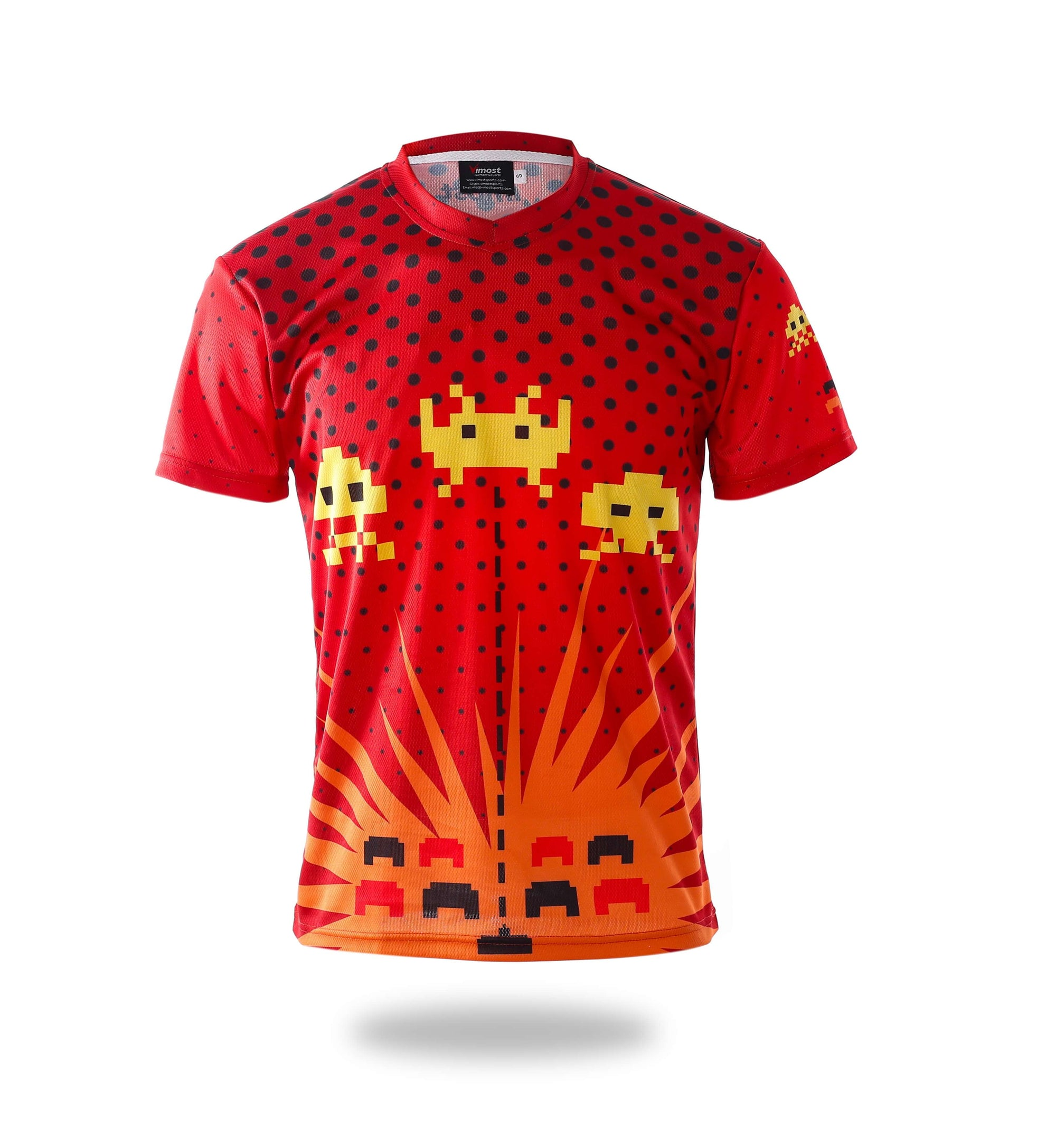 Sublimated Bees Game Design Gaming Shirts