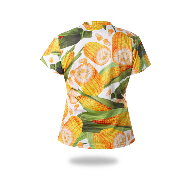 Vimost Sports Corns pattern Design Tshirts