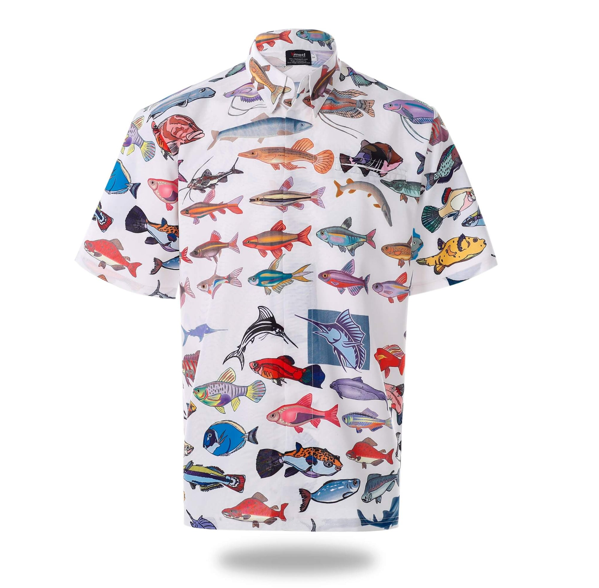 Fishes Design Top Quality Fishing Shirts-Vimost Sports