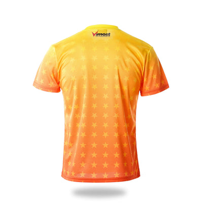 Short Sleeve Gamepad Design Yellow Esports Jersey - Vimost Sports