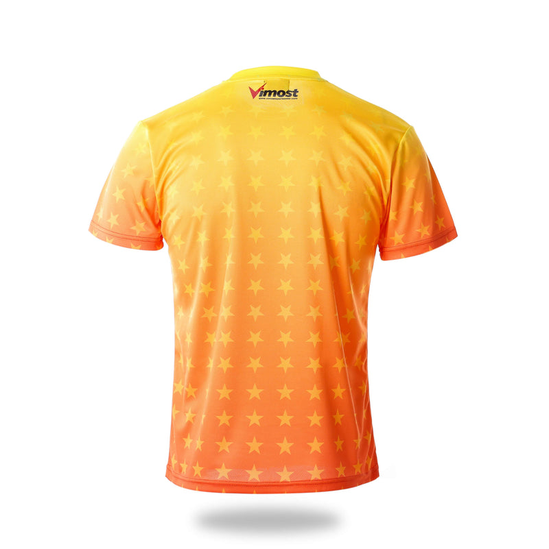 Short Sleeve Gamepad Design Yellow Esports Jersey