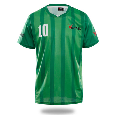 Sublimated Green Design Soccer Jersey - Vimost Sports