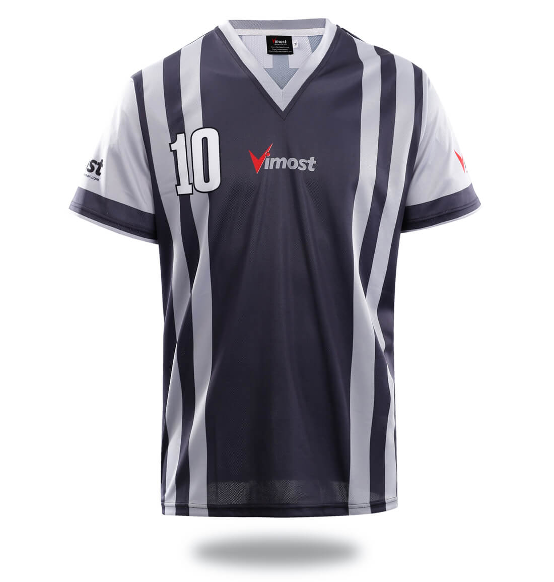 Sublimated Grey Design Soccer Jersey