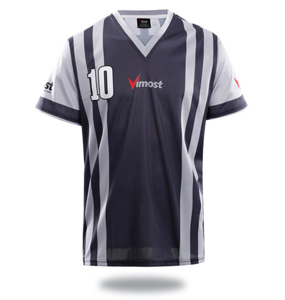Sublimated Grey Design Soccer Jersey - Vimost Sports