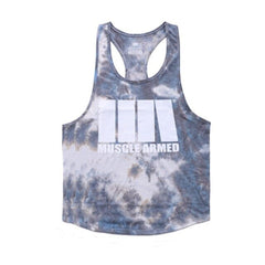 Gyms Fitness Workout Singlet Sling Vest Men Bodybuilding Tank Top Camouflage sleeveless Shirt Boy Summer Brand gym clothing