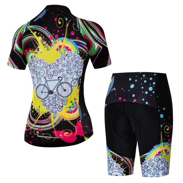 Funny Women  MTB  Quick Dry Cycling Wear-Vimost Sports