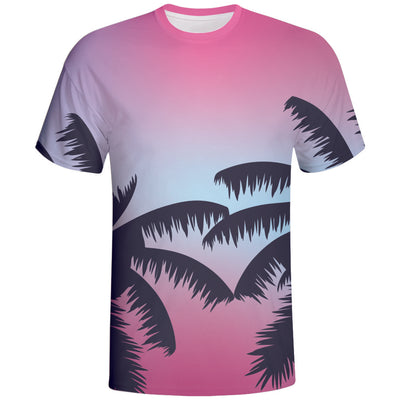 Sumer Time Design Sublimation Tshirts Vimost Sports