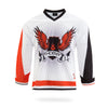 Phoenix Design White Ice Hockey Jersey-Vimost Sports