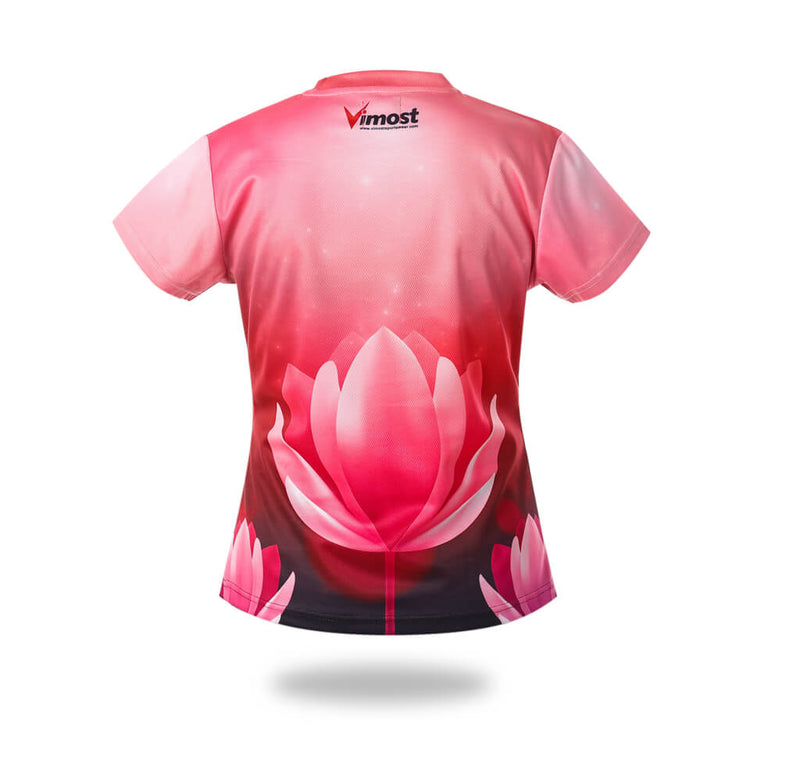 Pink lotus Design Tshirts
