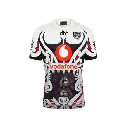 RESYO FOR  Vodafone Warriors Indigenous Rugby Jersey Sport Shirt S-5XL