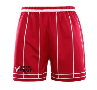 Red Stripes Simple Design Basketball Shirts And Shorts-Vimost Sports