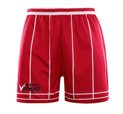 Red Stripes Simple Design Basketball Shirts And Shorts