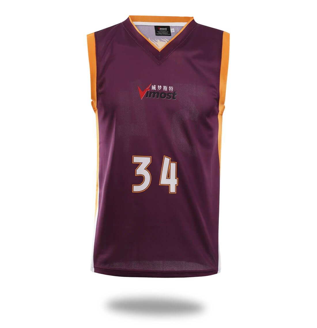 Simple Design Basketball Jersey And Shorts-Vimost Sports