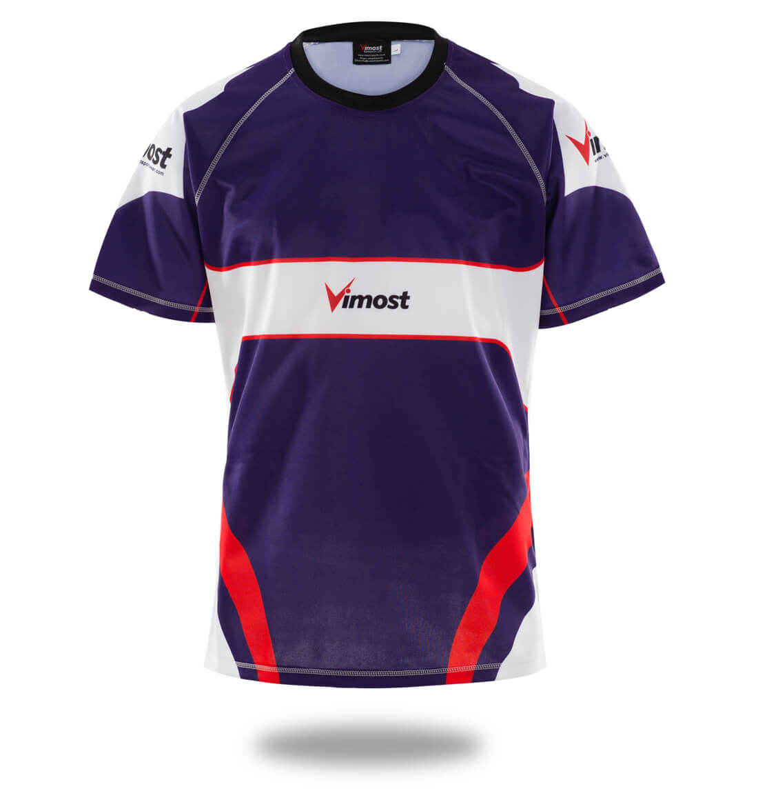 Sublimated Mens Simple Design Rugby Shirts-Vimost Sports