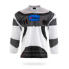 SpaceRangers Design White Hockey Jersey-Vimost Sports