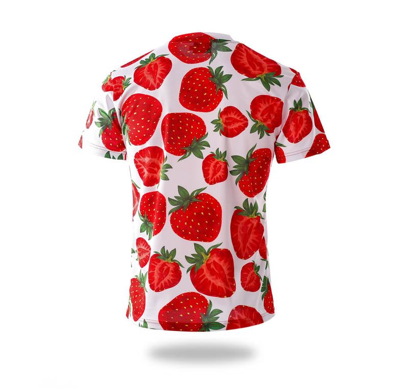 Strawberry pattern Design Tee shirts