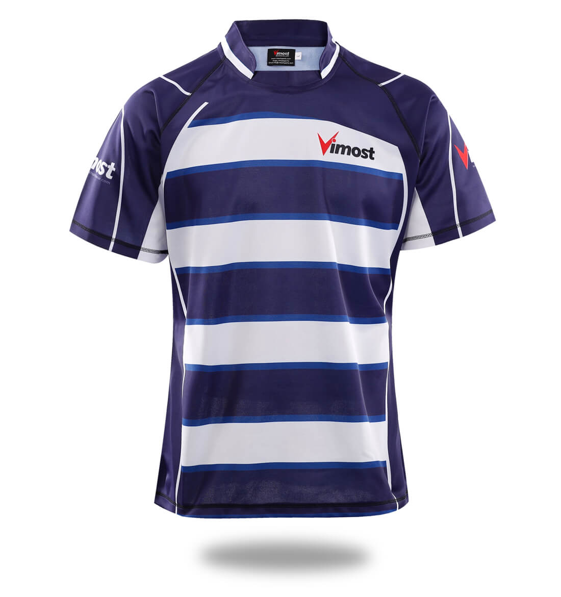 Sublimated Team Design Rugby Shirts-Vimost Sports