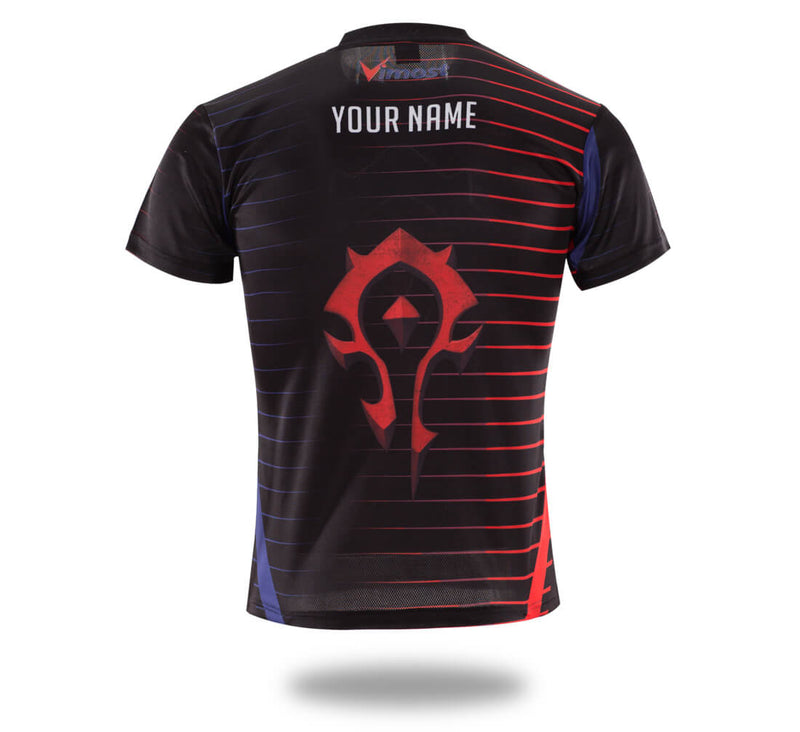 Tribe Logo WOW Design Gaming jersey-Vimost Sports