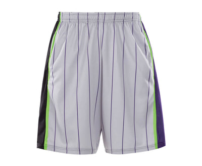 Purple White Color Design Vimost Lacrosse Pinnes And Shorts-Vimost Sports