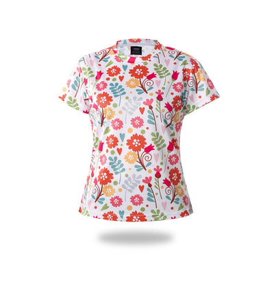 Woman Flowers Design Tshirts - Vimost Sports