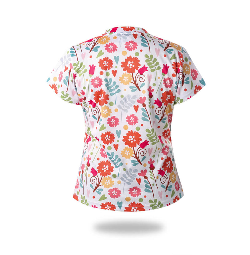 Woman Flowers Design Tshirts