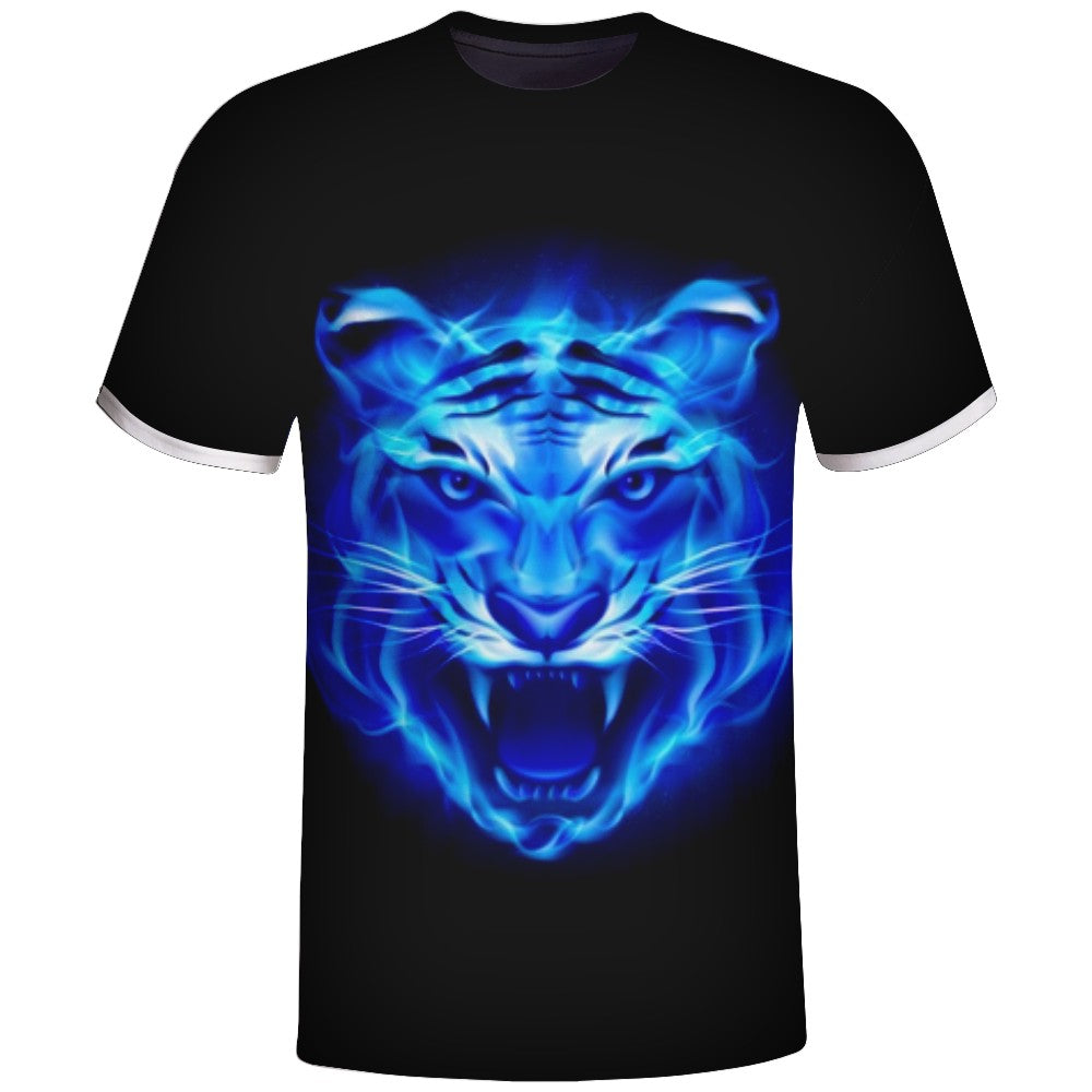Tiger head Design Sublimation Tshirts Vimost Sports