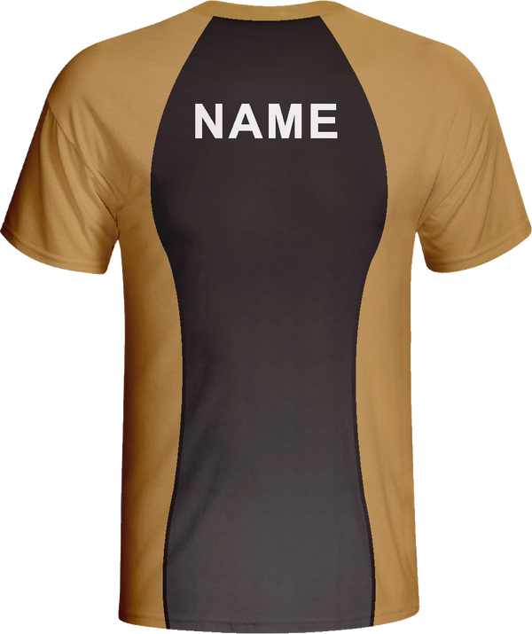 Vimost Simple  Design Sublimated Gaming Shirts Yellow Wear