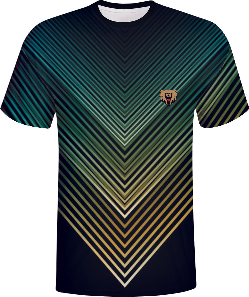 Green Design Esports Fashion Design Wear Sportswear