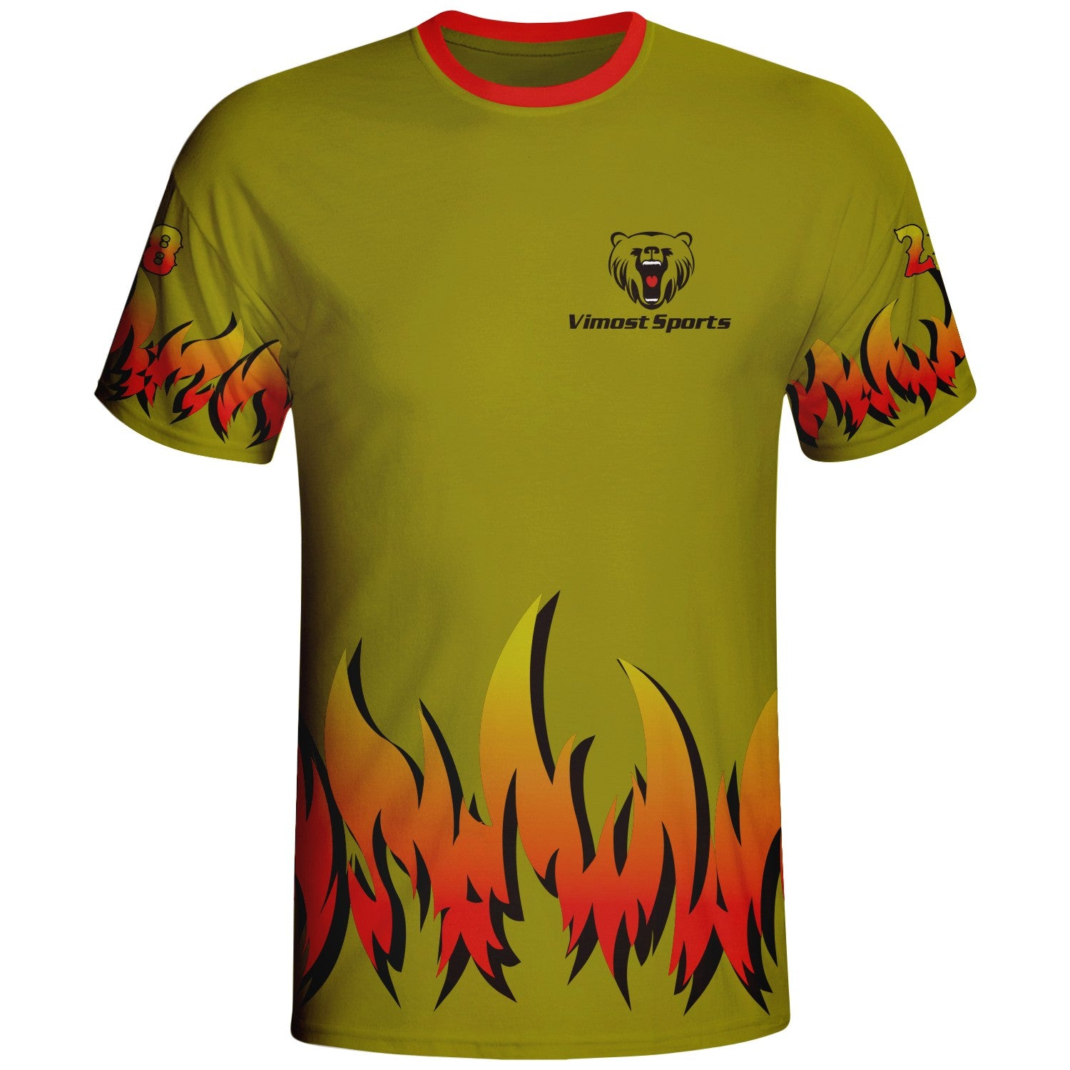 Fire Design Custom Gamertag Shirts Apparel Manufacturer
