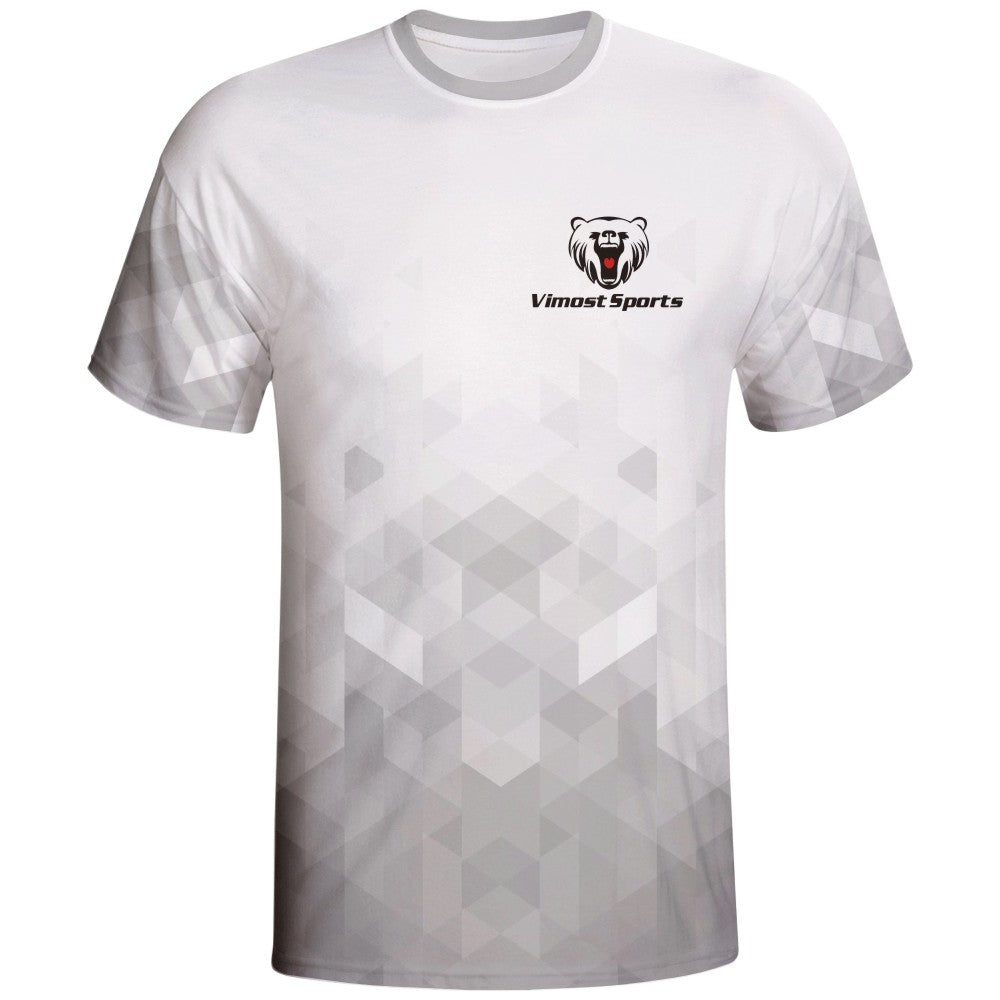 White Design Vimost Sports Gaming Shirts