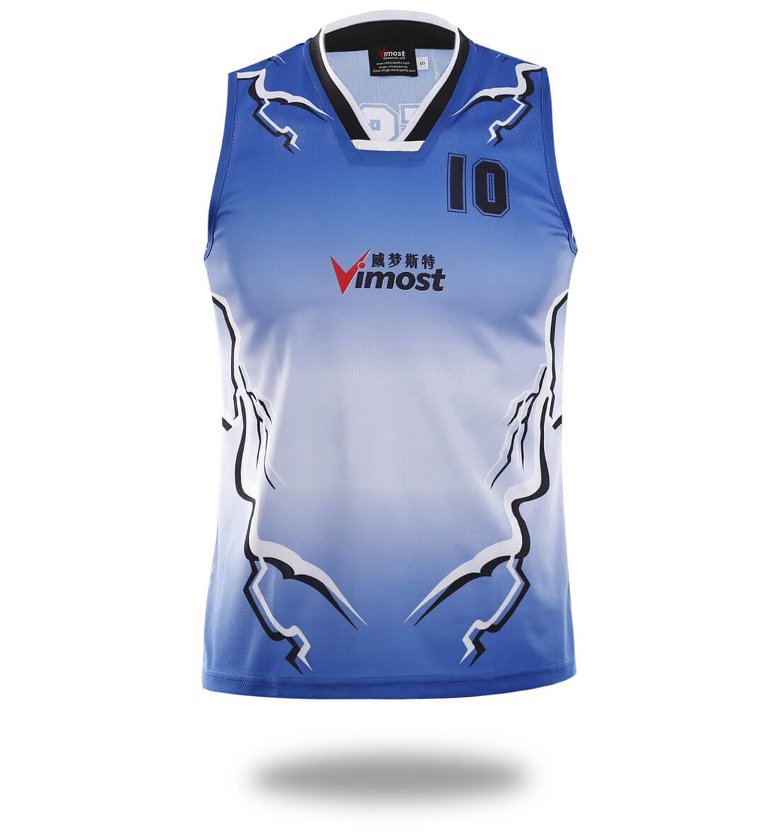 Lightning Design Team Basketball Shirts-Vimost Sports