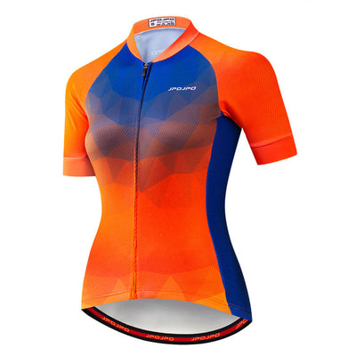 Women Summer Cycling Jersey Team Bicycle Clothing Maillot Ciclismo Quick Dry