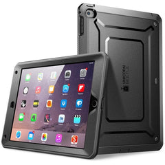 For iPad Mini/Mini 2 3 Case UB Pro Full-body Rugged Dual-Layer Hybrid Protective Cover with Built-in Screen Protector